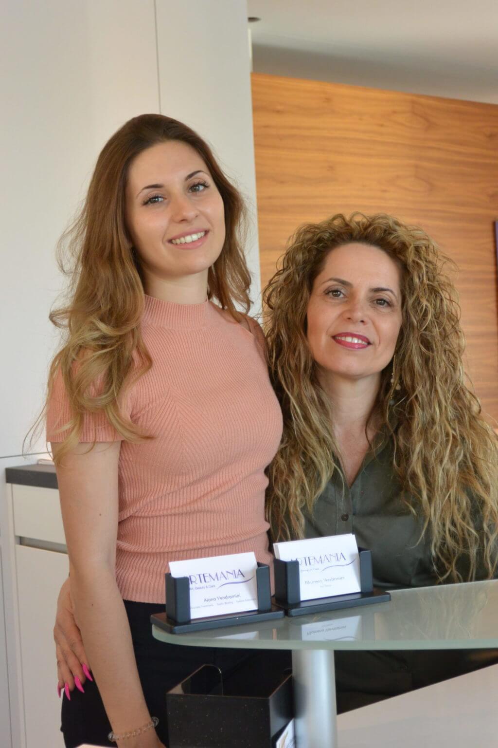 Ajana und Filomena Vendramini - Kosmetik Artemania Fehraltorf - Nail Art - Beauty und Care